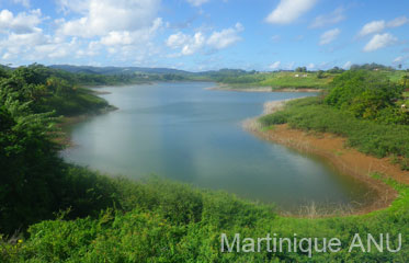 Barrage de la Manzo en Martinique