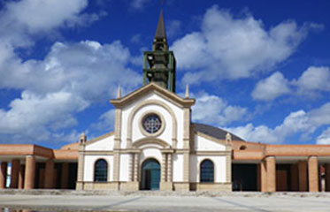 Eglise Saint Michel du François en Martinique