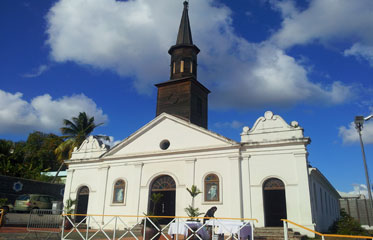 Eglise Saint Thomas du Diamant en Martinique