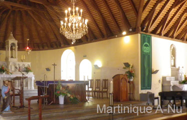 Eglise de Sainte-Anne en Martinique
